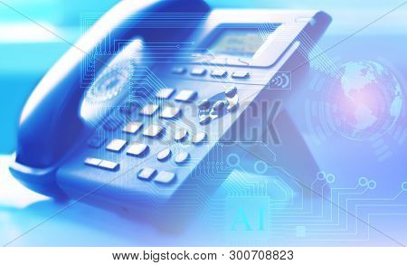 A Global Network Of Internet Telephony And Customer Support Worldwide With The Help Of A Contact Cen