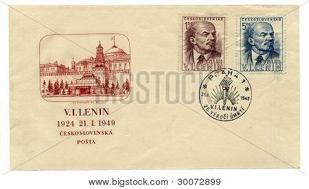 Envelope With Lenin