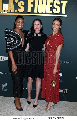 LOS ANGELES - MAY 10:  Gabrielle Union, Katherine Pope, Jessica Alba at the