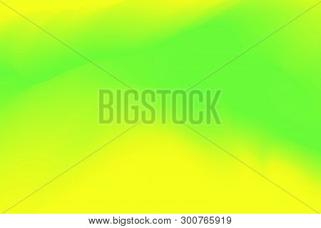 Blurred Green And Yellow Pastel Colors Soft Wave Colorful Effect For Background Abstract, Illustrati