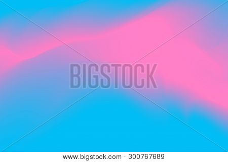 Blurred Blue And Pink Pastel Colors Soft Wave Colorful Effect For Background Abstract, Illustration