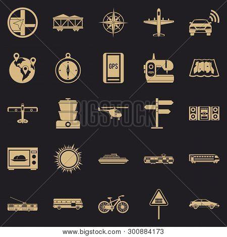Progressive Technology Icons Set. Simple Set Of 25 Progressive Technology Vector Icons For Web For A