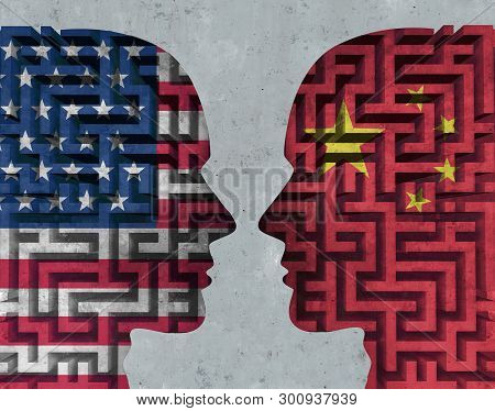 United States China Negotiations And Trade Talks Challenge With The American And Chinese Government