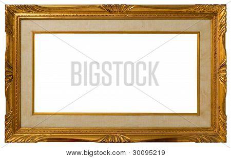 Antique Golden Frame.