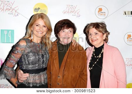 LOS ANGELES - May 11: Lisa Bloom, Guest, Gloria Allred at