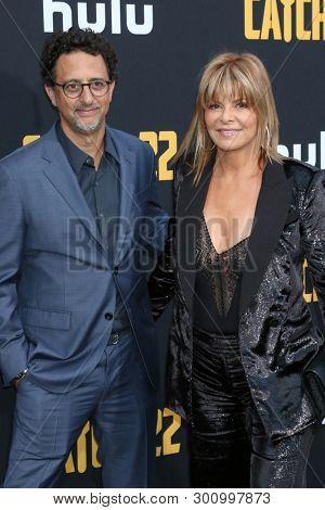 LOS ANGELES - MAY 7:  Grant Heslov, Lysa Hayland at the