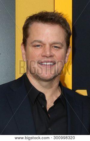 LOS ANGELES - MAY 7:  Matt Damon at the