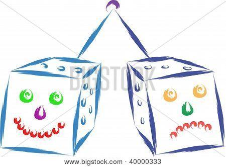 funny dice