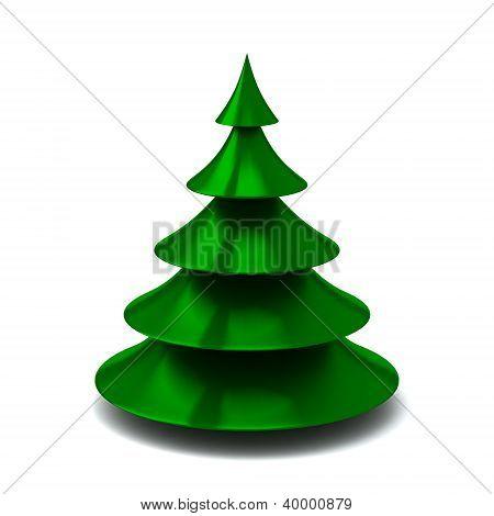Christmas tree,3d