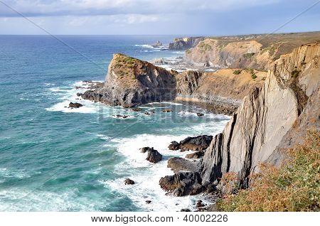 Rocky Coast Of Portugal