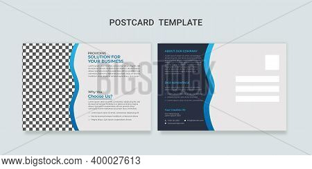 Corporate Postcard Template, Business Postcard Template, Modern Postcard Template