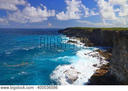 Guadeloupe Landscape - Porte D'enfer (hell's Gate). Caribbean Landscape.