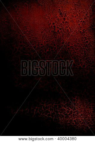 Abstract Textured Background: Red Patterns On Dark Backdrop