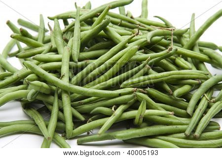 Fresh Raw String beans