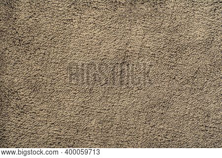 Textured Khaki Textile Surface. Abstract Material Background