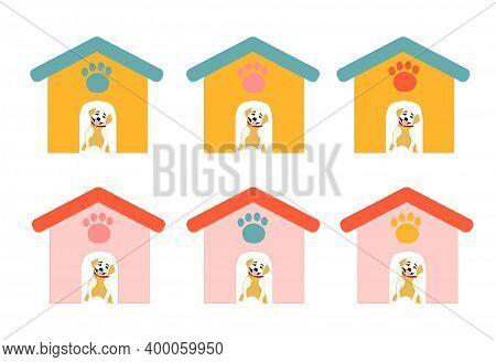 Dog Near The Booth, Dog House, Cute Booths.