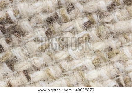 Light Wool Fabric Texture