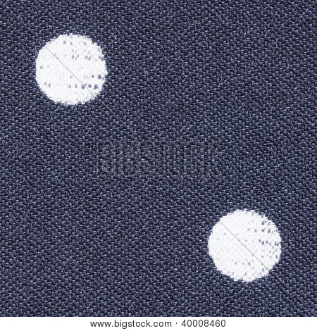 Polka Dot Fabric Texture
