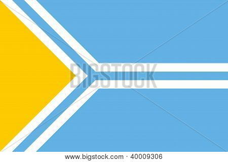 Tuva Flag