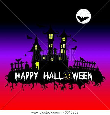 Happy Halloween Vector Illustration Part One