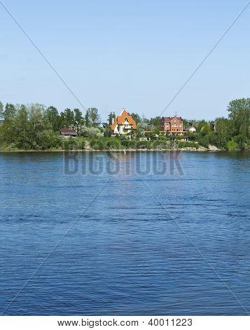 Cottage In Novosaratovka