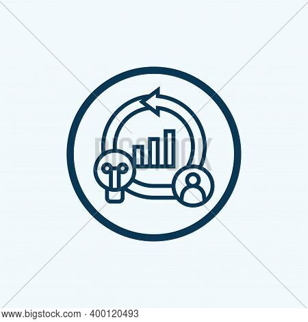 Agile Icon. Creative Element Design From Content Icons Collection. Pixel Perfect Agile Icon For Web