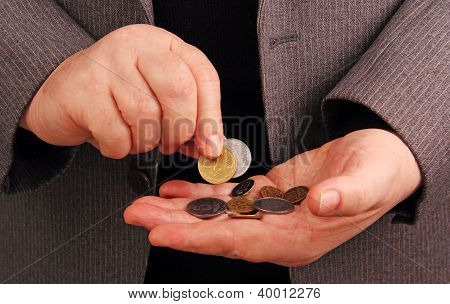 Coins In Their Hands.