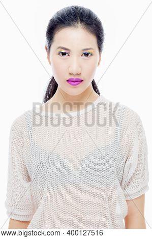 Asian Teenager Girl Beauty Portrait