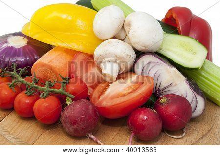 Vegetables and Mushrooms