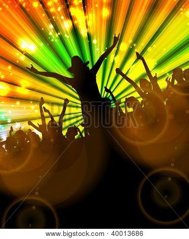 Disco. Party illustration