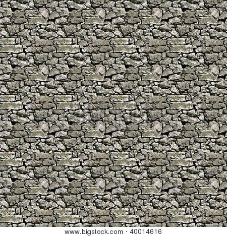 Seamless Limestone Dry Wall Pattern