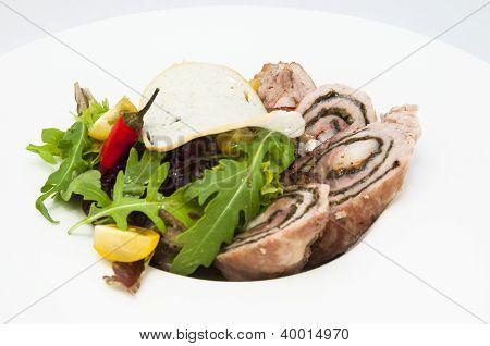 Roll meat