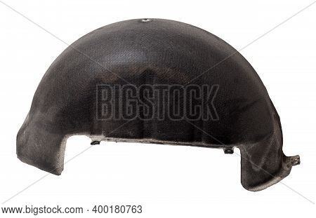 Black Plastic Liner On A White Isolated Background In A Photo Studio For Sale Or Replacement In A Ca