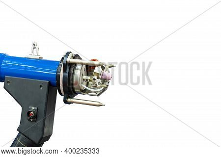 Close Up Modern And Accuracy Automatic Metal Pipe Or Tube Orbital Welding Head Machine For Manufactu