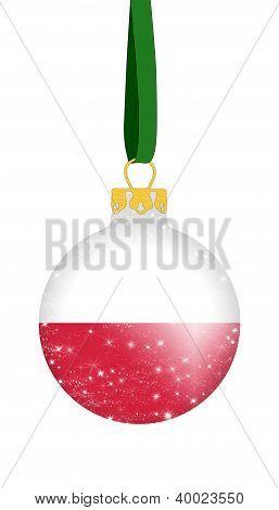 Christmas ball - Poland