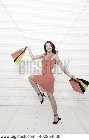 Fashion. Black Friday Sales. Happy Woman Go Shopping. Happy Shopping Online. Happy Holidays. Last Pr