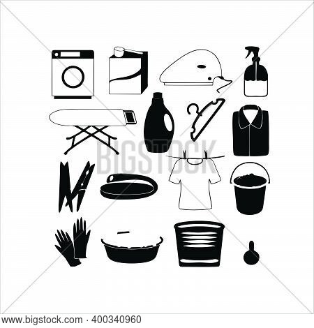 Hand Collection. Cleaning. Housekeeping And Cleaning Services. Cleaning Windows, Ironing, Cleaning F
