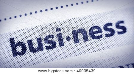 Word Business In Glossary, Super Macro