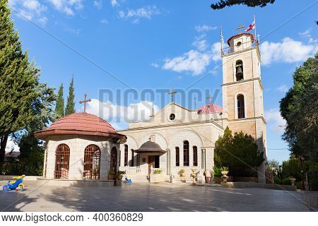 Bethlehem, Israel, December 09, 2020 : The Orthodox Church In Honor Of The Cathedral Of The Most Hol
