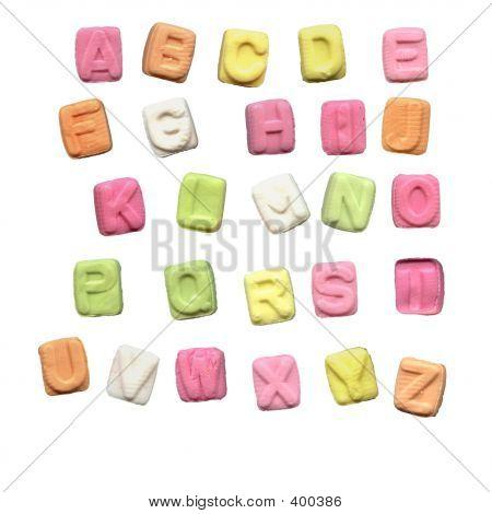 Alphabet Candy