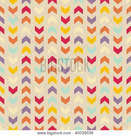 Aztec Chevron wektor wzór kolorowy, tekstury lub tło z zygzakiem paskami.