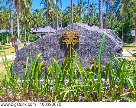 Koh Racha Yai, Thailand - February 11, 2010: Beautiful Tropical Luxury Hotel The Racha 5 Stars At Ko