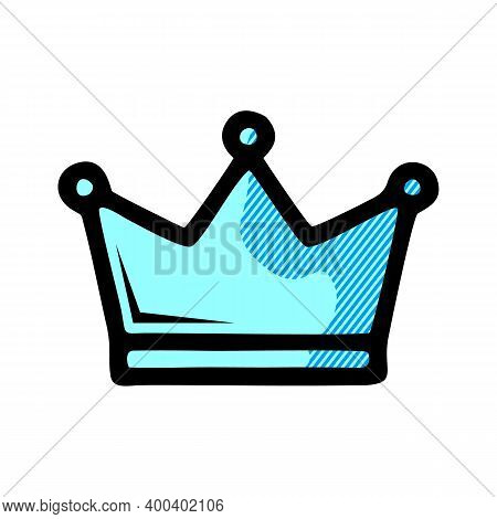 Crown Icon Isolated On White Background From Casino Collection. Crown Icon Trendy And Modern Crown S