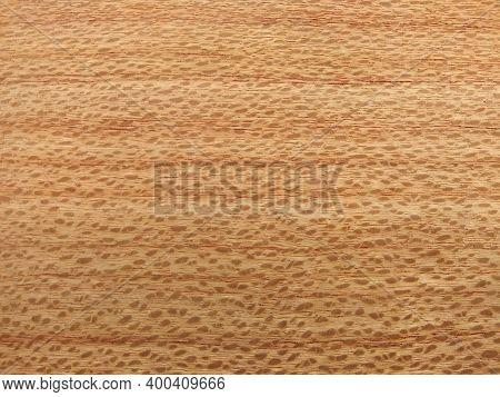 Natural Southern Oak Quarter Cut Wood Texture Background. Southern Oak Quarter Cut Veneer Surface Fo