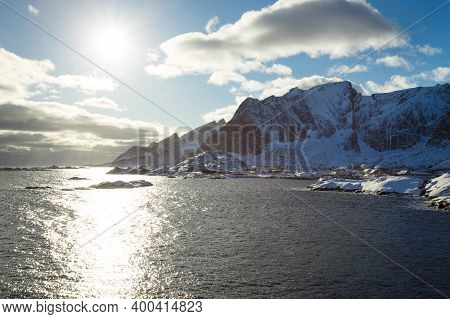 Beautiful View On The City Reine