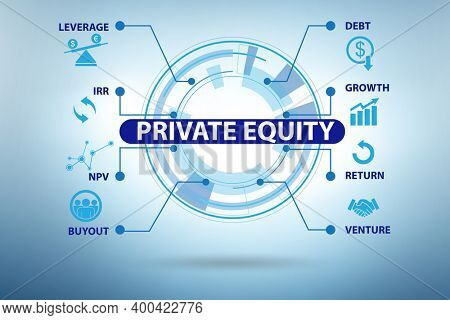 Private equity investment business concept