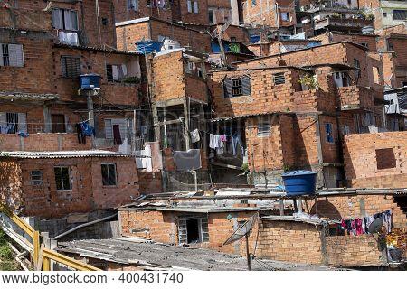 Houses In The Slum