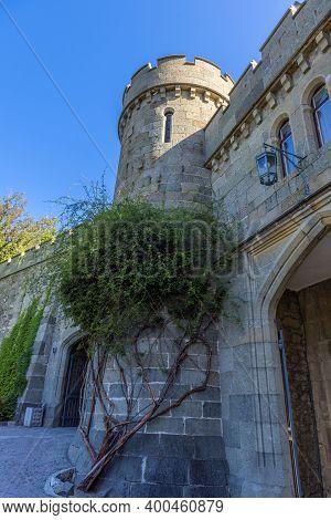 Alupka, Crimea - 18.09.2020 : Shuvalov Passage At Vorontsov Palace In Crimea, Russia. Vorontsov Pala