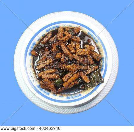 Tempe Orek, A Block Of Tempeh Is Sliced And Stir-fried With The Subtly Sweet Indonesian Soy Sauce An