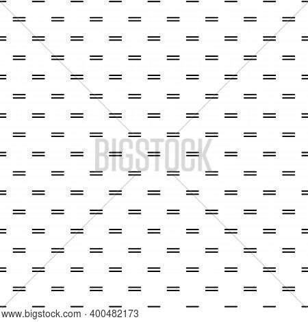 Strokes Seamless Pattern. Dashes Print. Lines Ornament. Linear Wallpaper. Stripes Background. Dashed